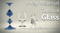 3DS MAX -Creating realistic glass material with #VRay.