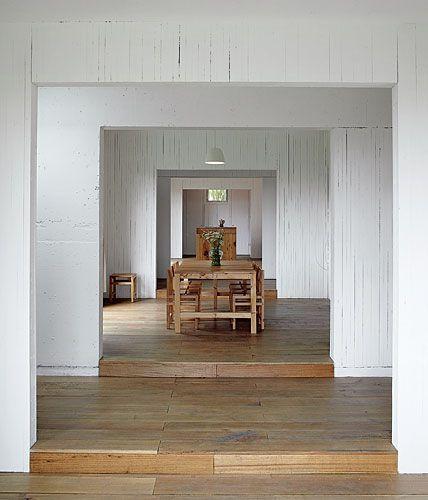 Cien House Interior designed by Pezo von Ellrichshausen Architects.