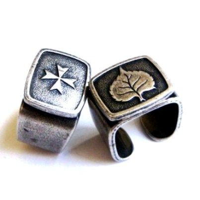 Silver plated rings by Hagit Fink Jewelry Each 27$