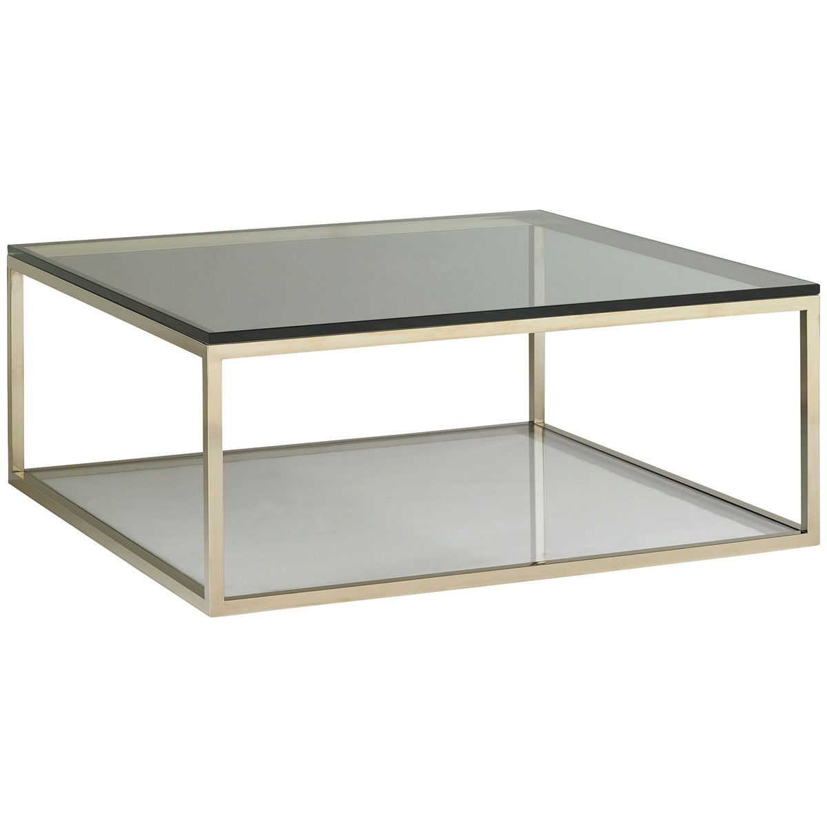 Caracole Inch Square Cocktail Table Design Pinterest - 44 inch square coffee table