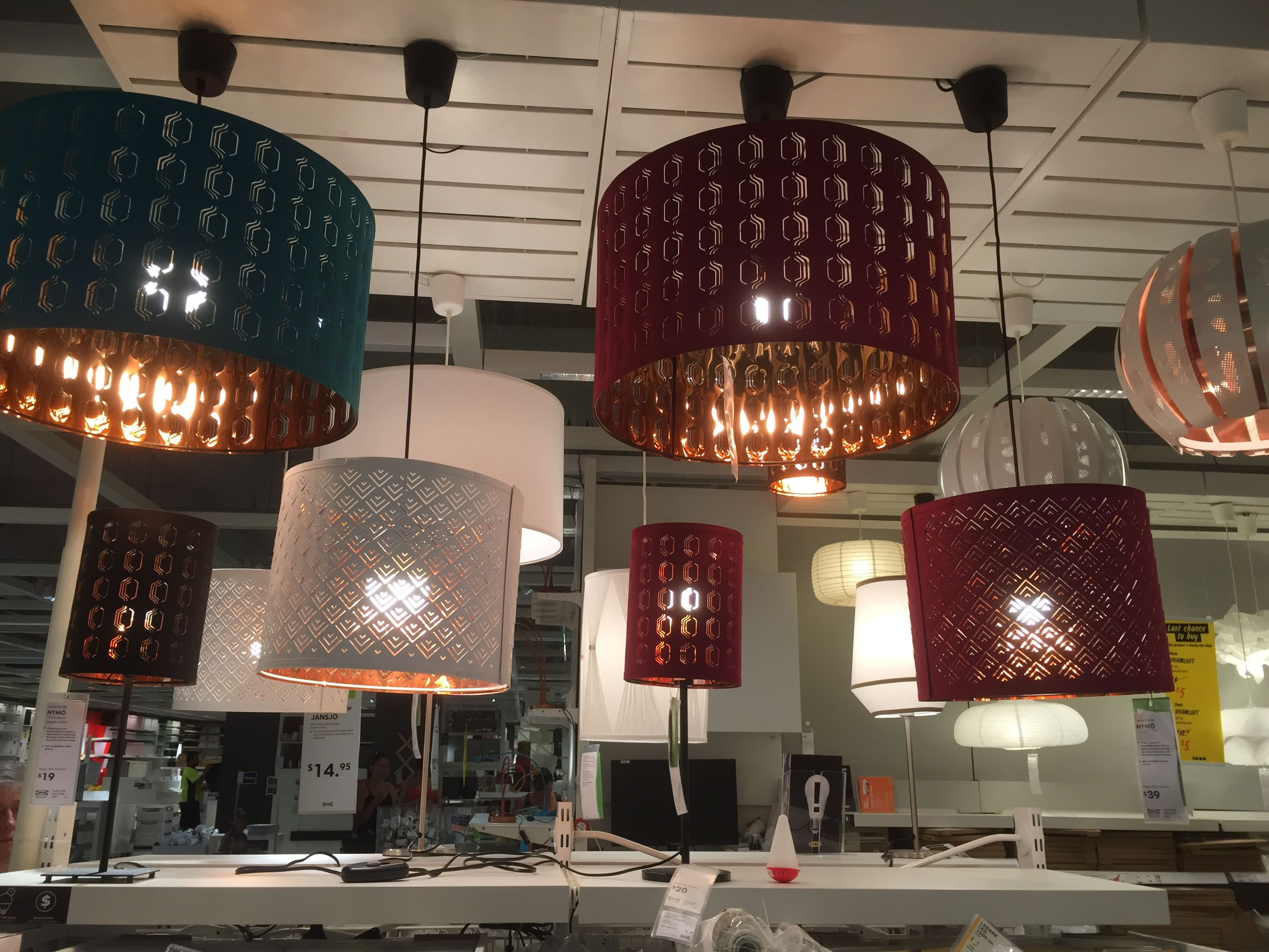 Ikea Nymo Light Pendant Or Lamp Shades Lampen Gemutlichkeit