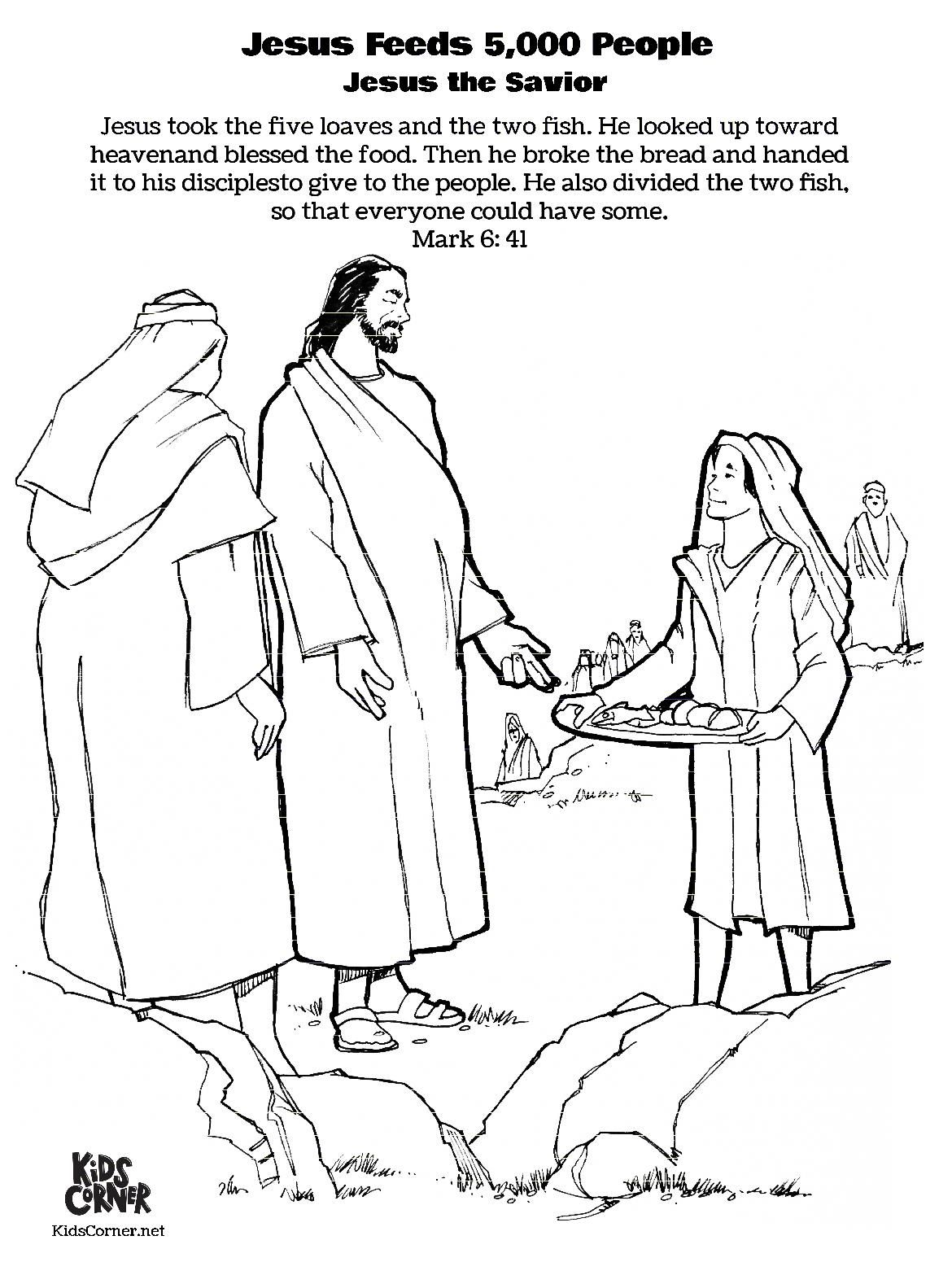 This free coloring page is part of our Jesus the Savior
