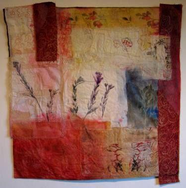 """Saatchi Art Artist Cas Holmes; Collage, """"Red Madder"""" #art"""