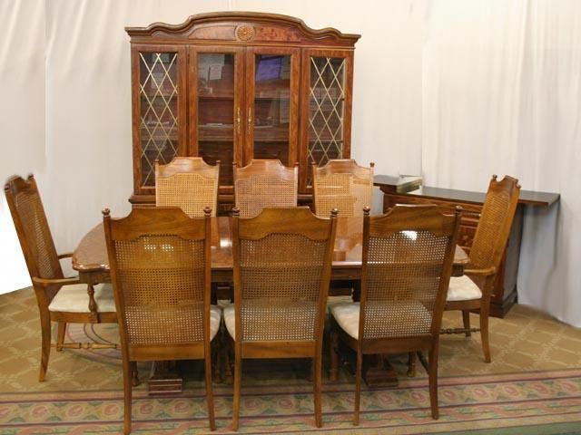 Perfect Ideas Broyhill Dining Table Impressive Furniture Pretty Brown Wooden By Impressivebeddingsets