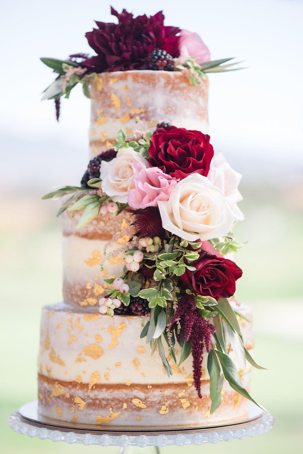 Romantic Burgundy Blush Wedding Ideas Burgundy wedding