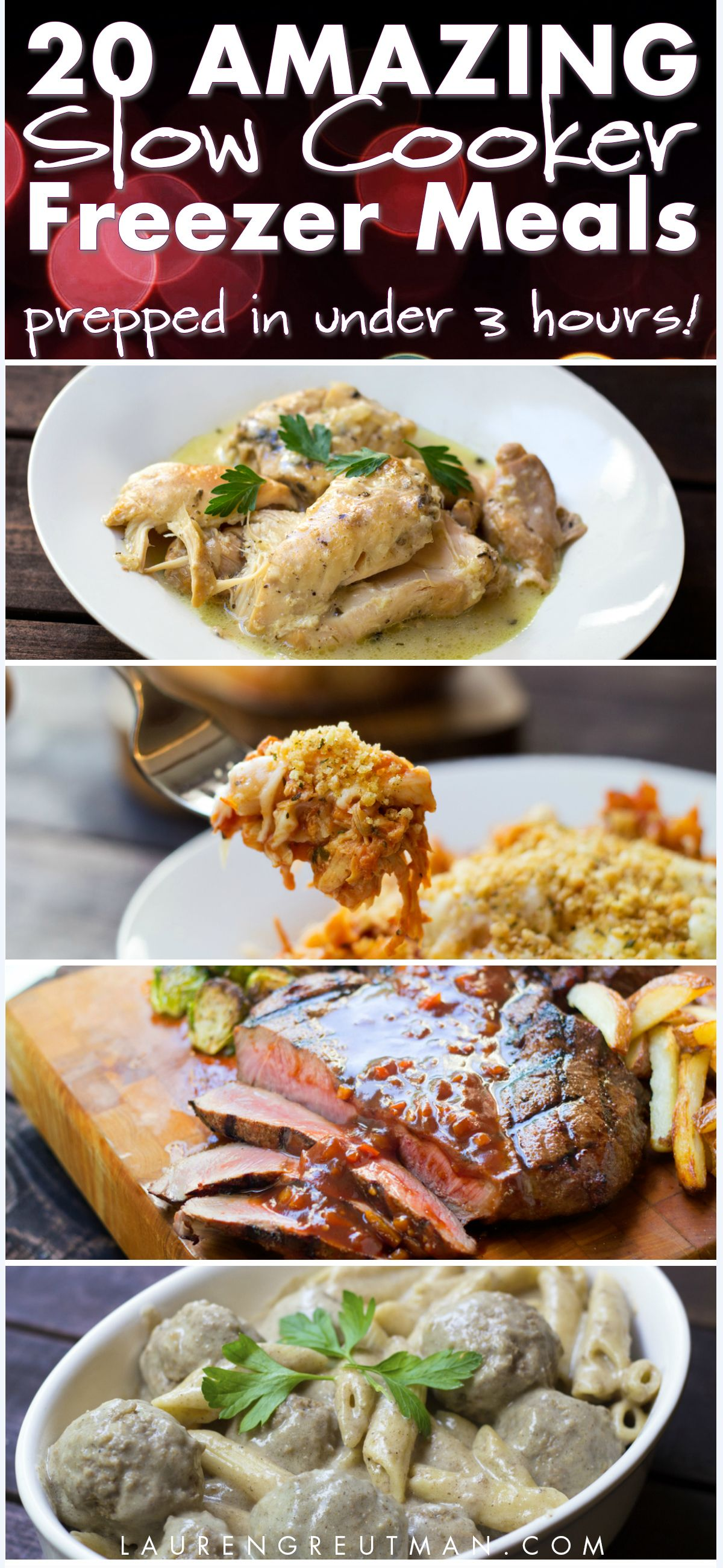 """You are gonna LOVE this! This is the 4th meal plan using the """"One Touch"""" prep system which will help you get 20 meals prepared in no time at all! Oh - and the meals are AMAZING. via @iatllauren"""