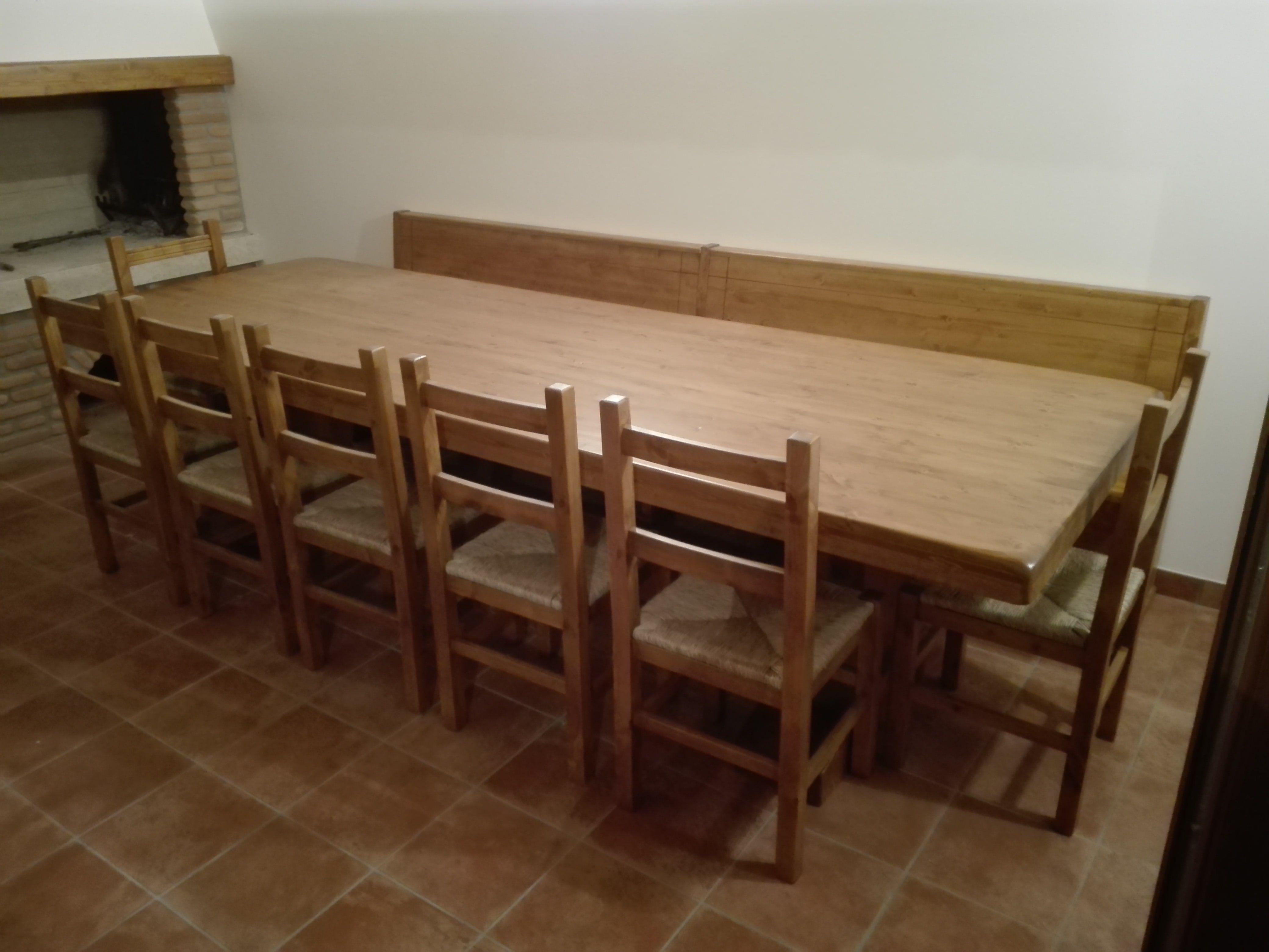 Tavoli Taverna Tre Metri Dove La Solidita Si Vede Realizzabili Con Misure Fino A 5 Metri Tavolitaverna Tavolile Tavoli Tavoli In Legno Tavolo Legno Massello