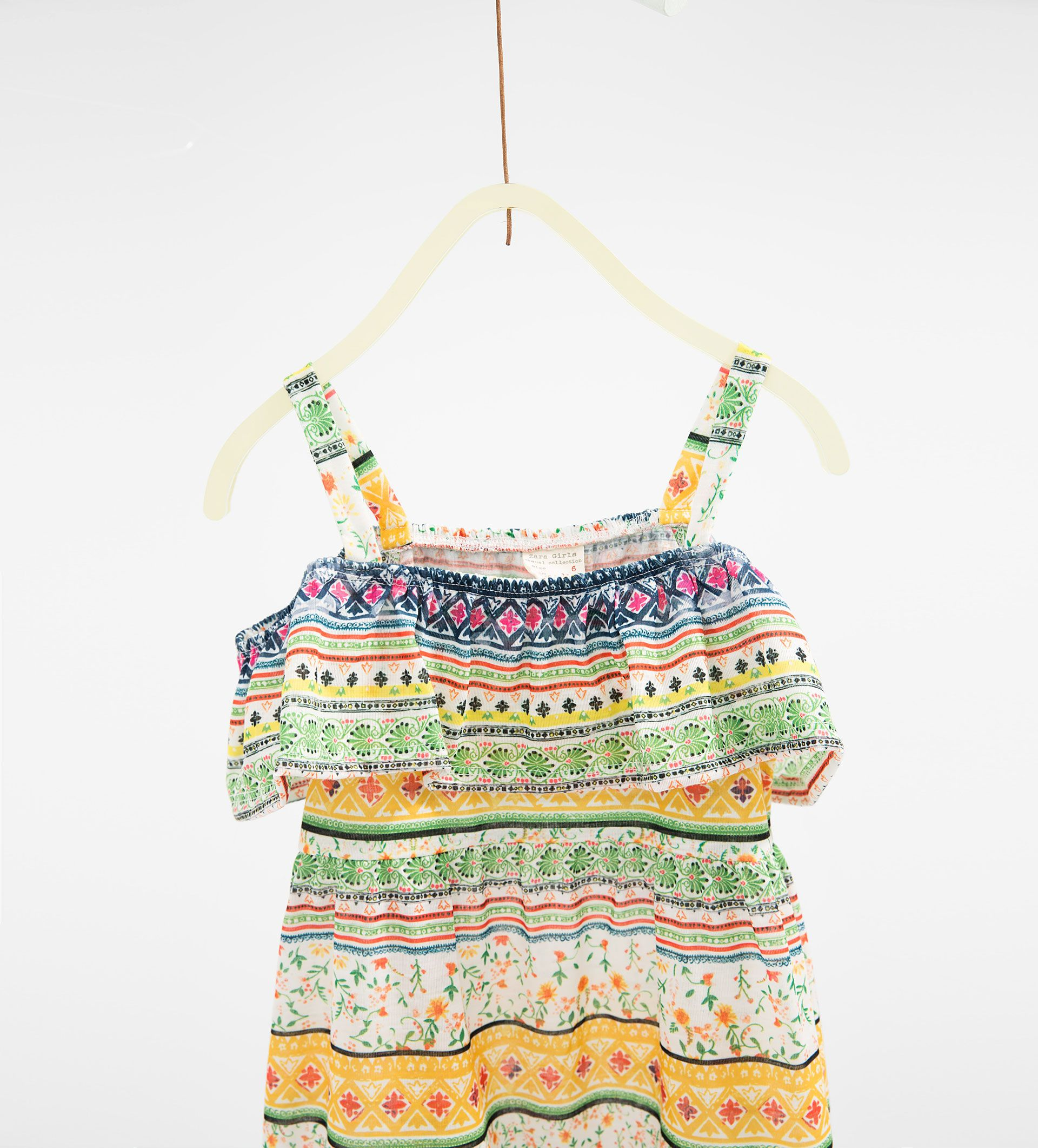 Long frilled dress pattern batik pinterest kids girls
