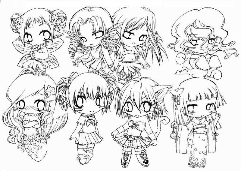 Printable Chibi Coloring Pages Sailor Moon Coloring Pages Chibi Coloring Pages Moon Coloring Pages