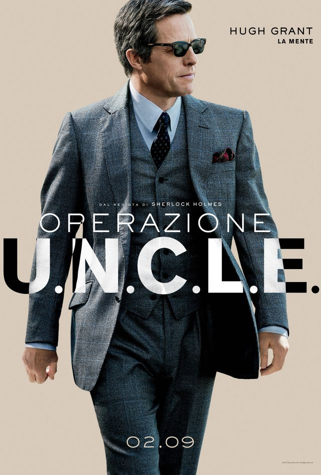 I protagonisti di Operazione U.N.C.L.E. ritratti nei nuovi poster italiani