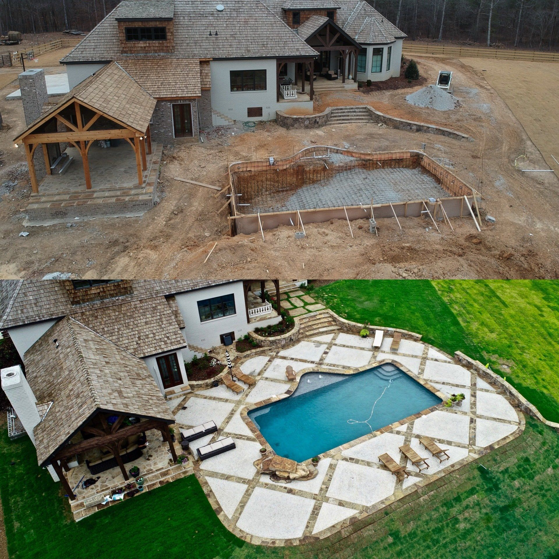 Treat Yourself To A Home Transformation Like This Call Us Today 205 437 1012 Landscape Design Services Landscape Design Hardscape