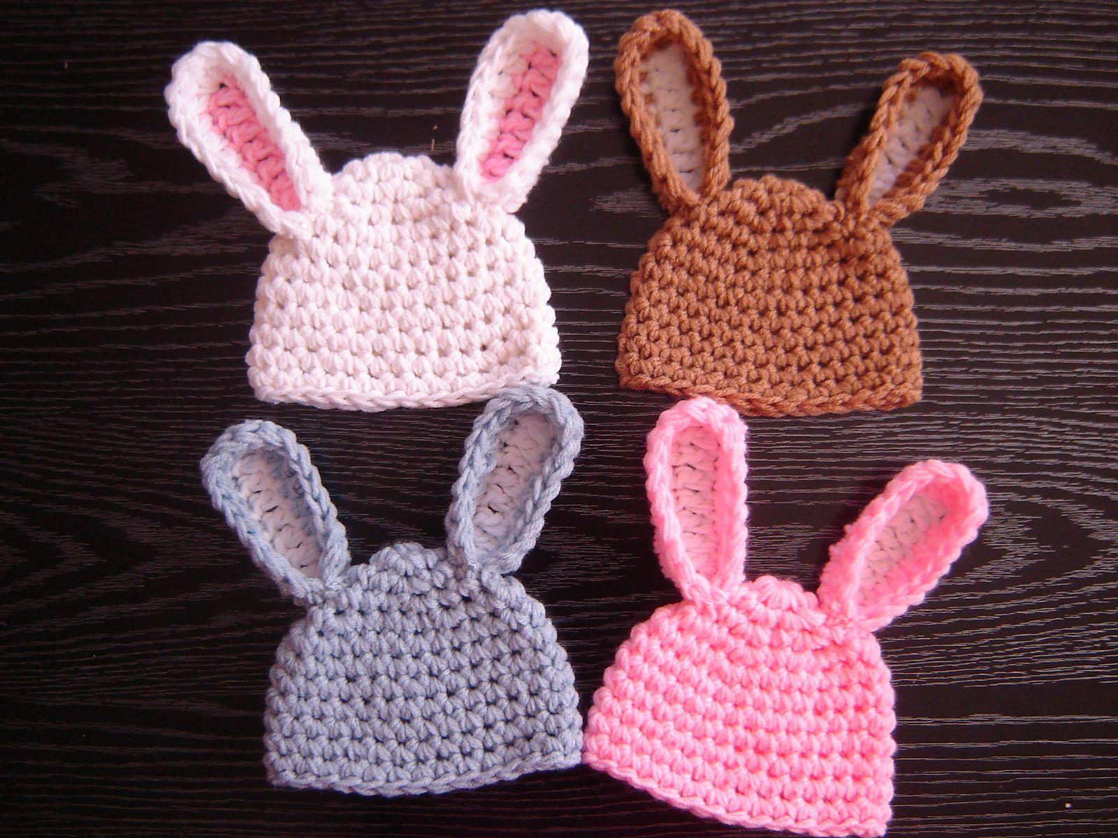 Easy Bunny Hat By JTcreations - Free Crochet Pattern - (ravelry ...