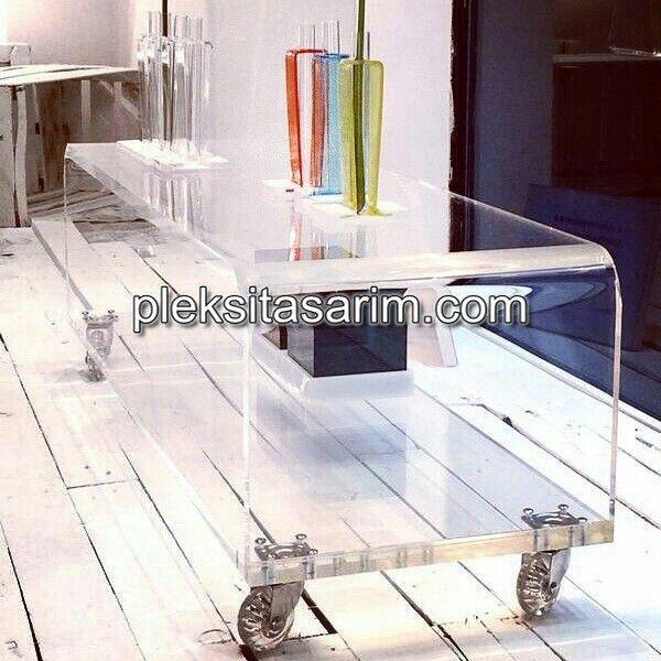 pleksimobilya Akrilik mobilya, Ev dekoru, Tasarım