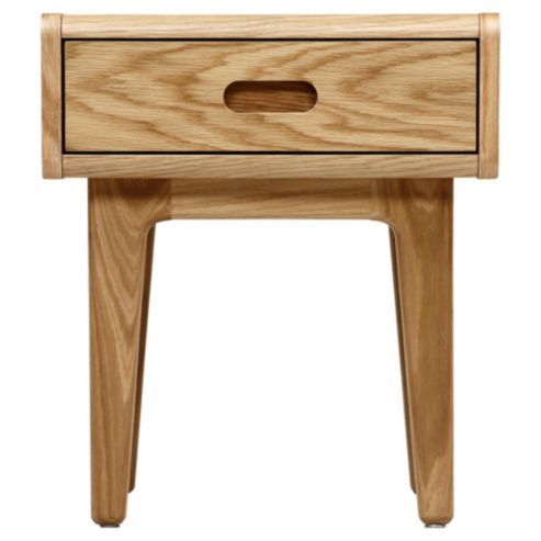 Stockholm Bedside Table Solid Oak Solid Oak Bedside Table Bedside Table Drawers