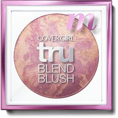 covergirl trublend blush medium rose  covergirl trublend