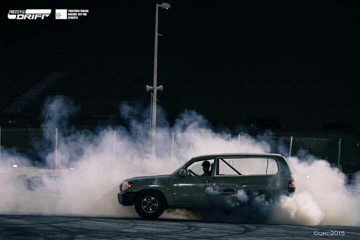 Racing Doha Qatar Toyota Landcruiser Fourwheel Twowheel