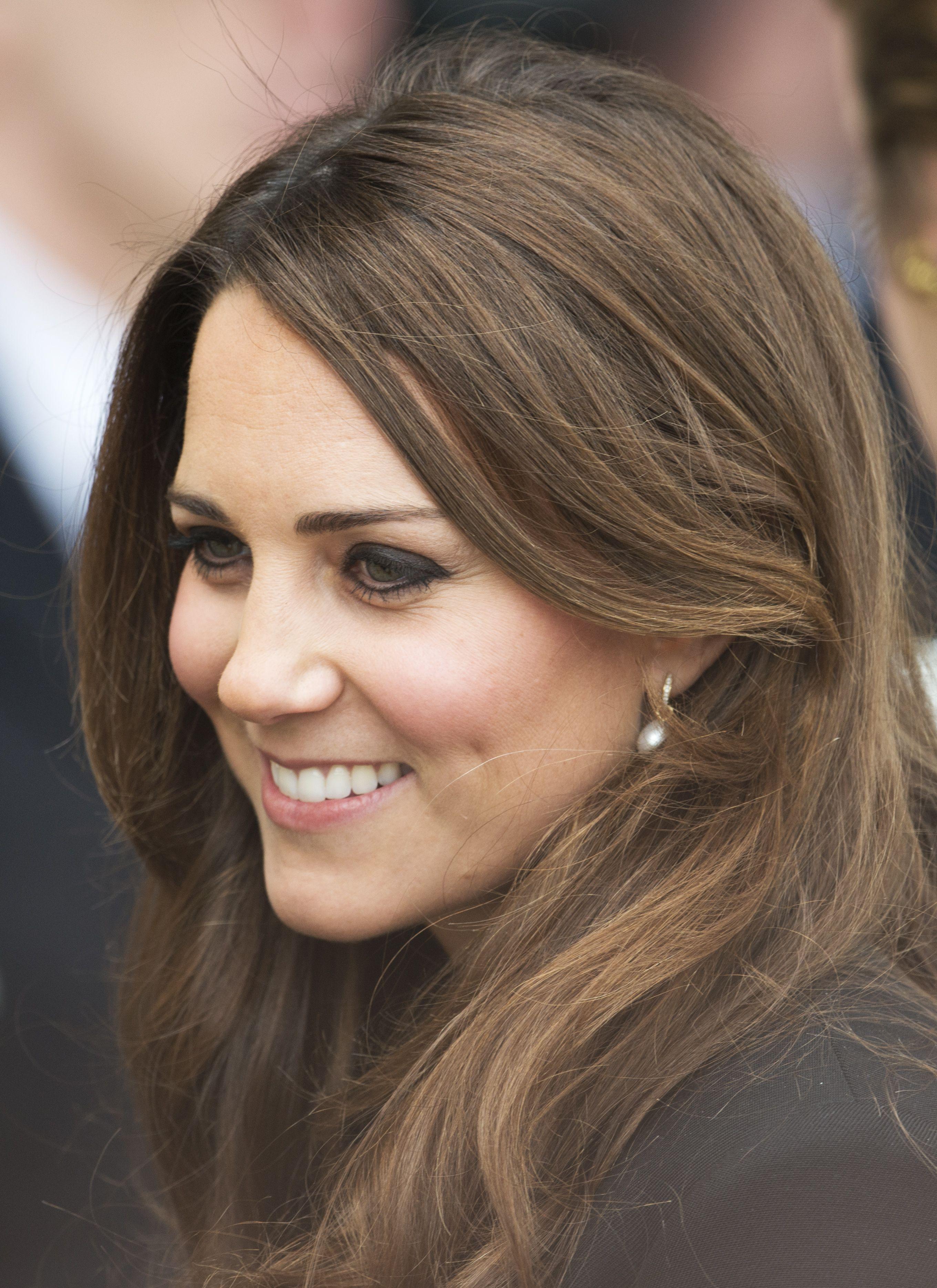 Kate Middleton Hair Close-Up Warner Bros.