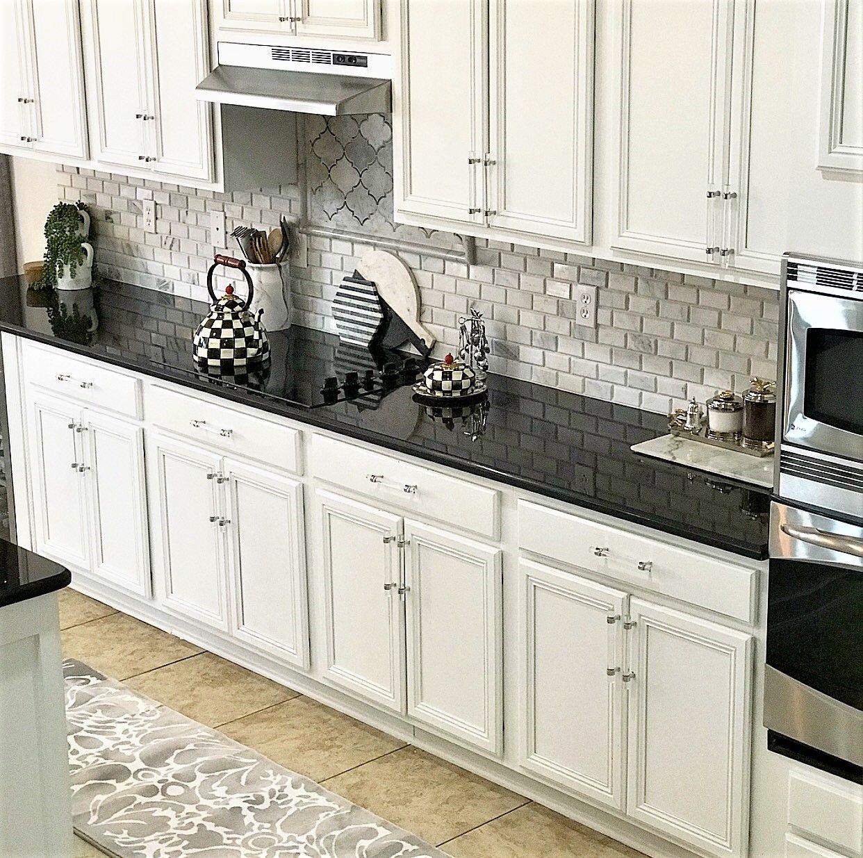 Dark To Light Kitchen Makeover With Floor & Decor   Kitchen ...