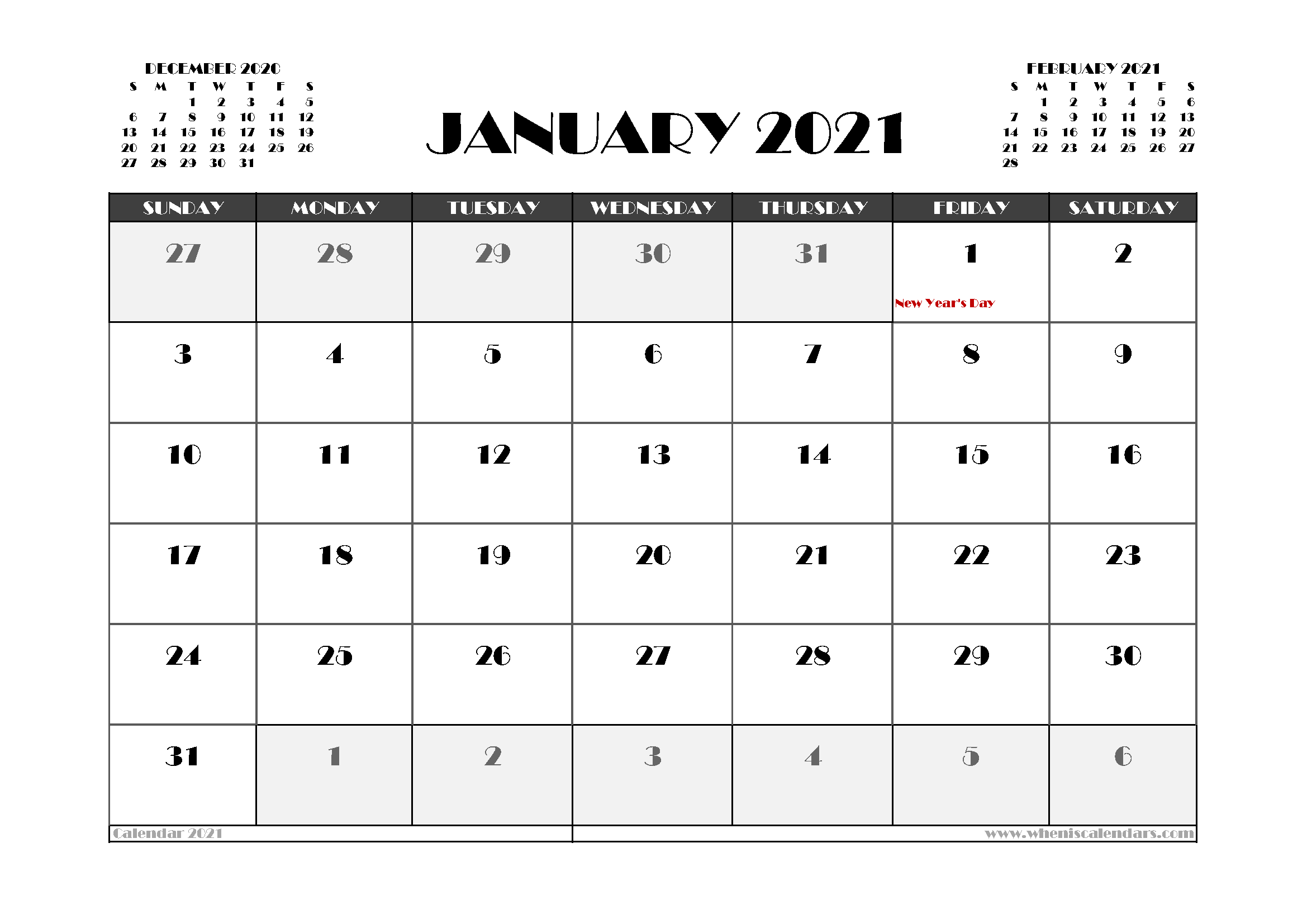 Free January 2021 Calendar Canada Printable In 2020 Calendar Uk 2021 Calendar Calendar Australia