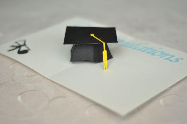 3d Graduation Cap Pop Up Card Template Creative Pop Up Cards Pop Up Cards Pop Up Card Templates Graduation Cards
