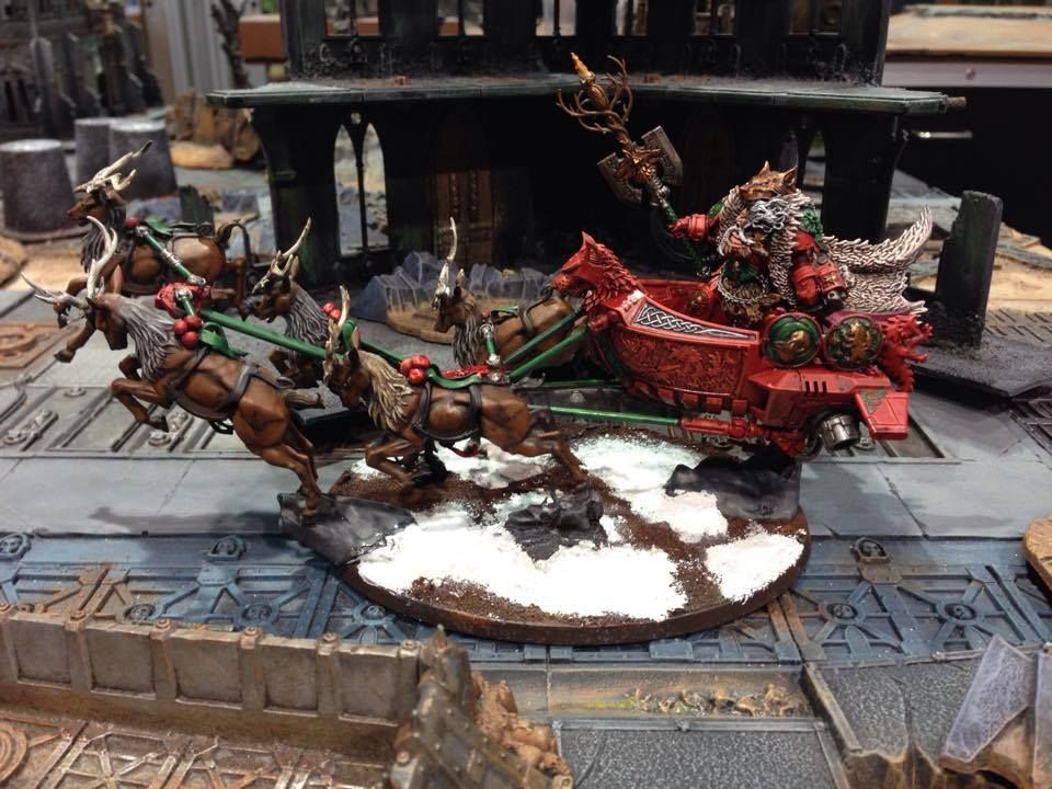40k conversion christmas - Google Search | 40K Space Wolf ...