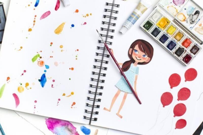 رسومات اطفال بنات