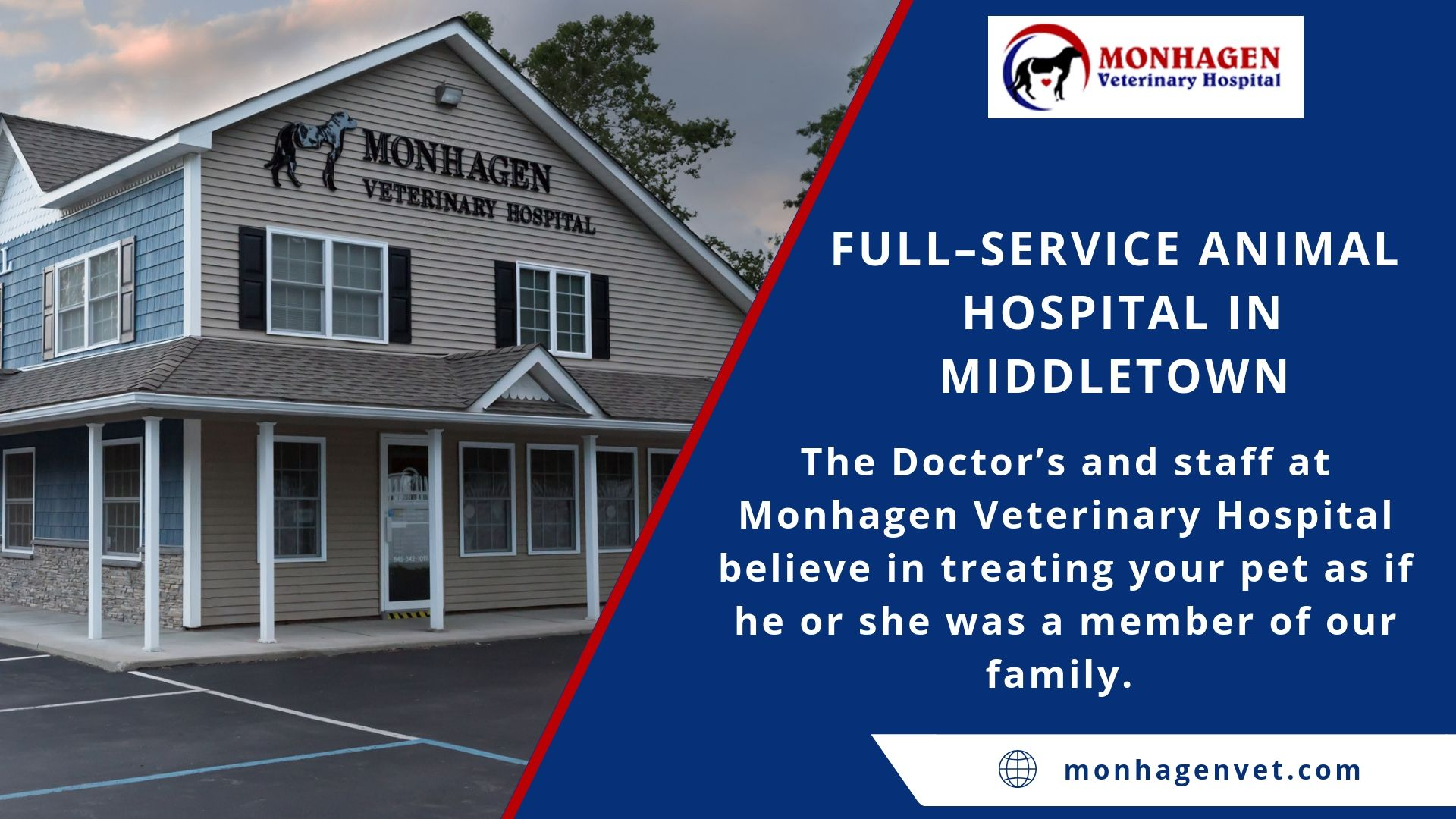 Full Service Animal Hospital In Middletown Pet Health Pet Vet Animal Hospital
