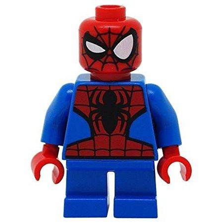 LEGO 76064 Super Heroes Mighty Micros Ultimate Spider-Man Minifigure Short Legs