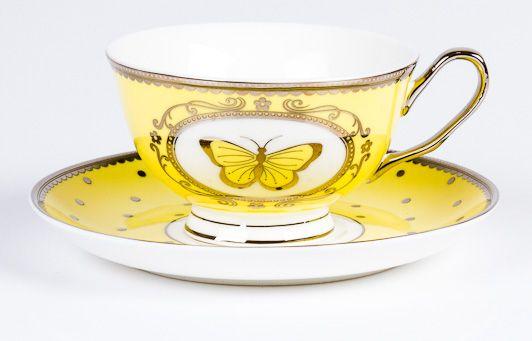 Pretty In Pastel C/S Yellow | T2 Tea
