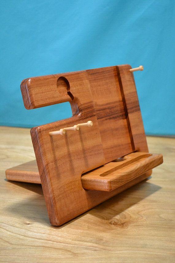 produktdetails diese uhr apple iphone und multi verwendung halter ist aus 100 massivholz. Black Bedroom Furniture Sets. Home Design Ideas