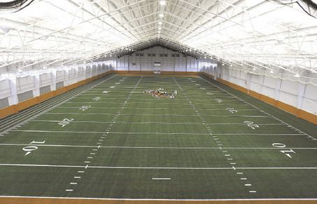 Leave It To Massillon To Have An Outdoor And Indoor Football Field Indoor Soccer Field Stadium Architecture Football Field