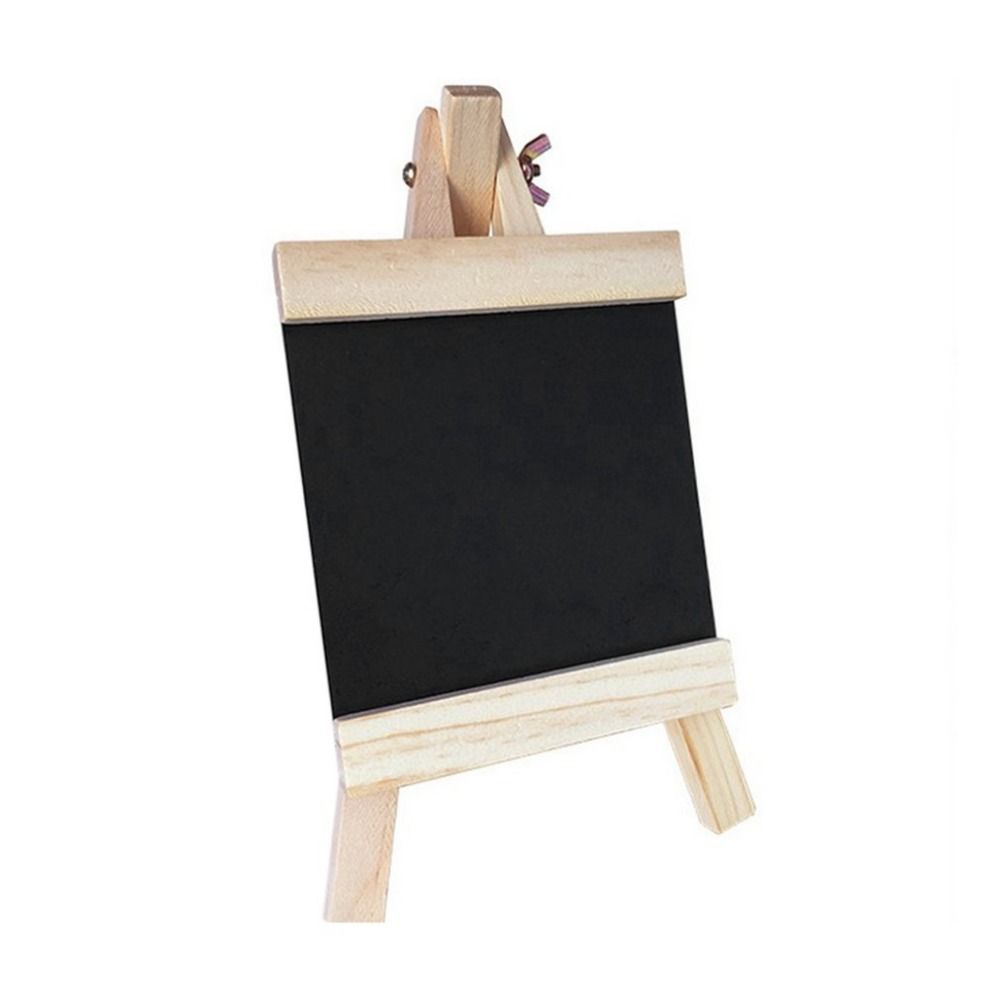 10 x Mini Small Wooden Painting Artist Easel Little Chalkboard Display Stand Table Easels for Party Sign Photo Memo Holder Place Card Name Card Table Number Holder Stand for Baby Shower