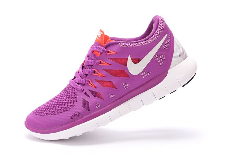 newest 570b2 a6c76 Nike Free 5.0+ 2014 Womens Club Purple Orange Red Ice White 642198 500   cheap  nike  frees