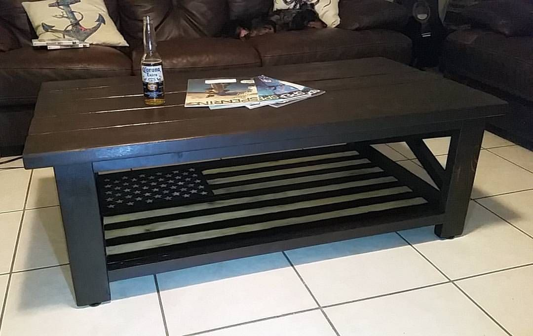 American flag rustic x coffee table do it yourself home projects american flag rustic x coffee table do it yourself home projects from ana white solutioingenieria Image collections