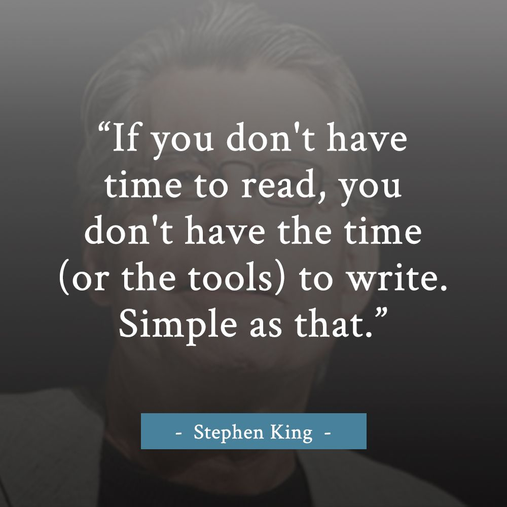 one of my favorite quotes on writing from stephen king! | quotes +