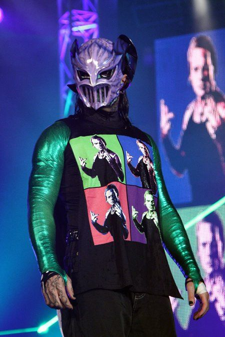 Jeff Hardy in a mask