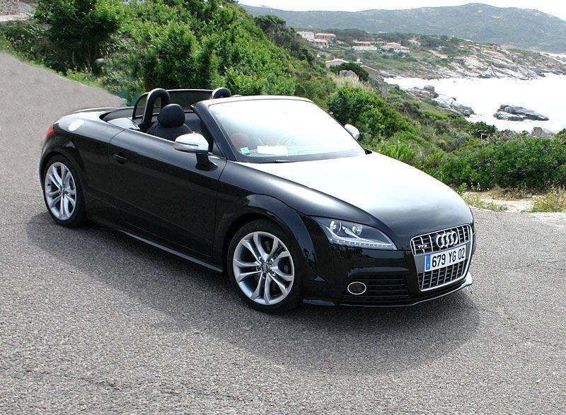 Audi Tts Convertible Black Sexy On 4 Wheels