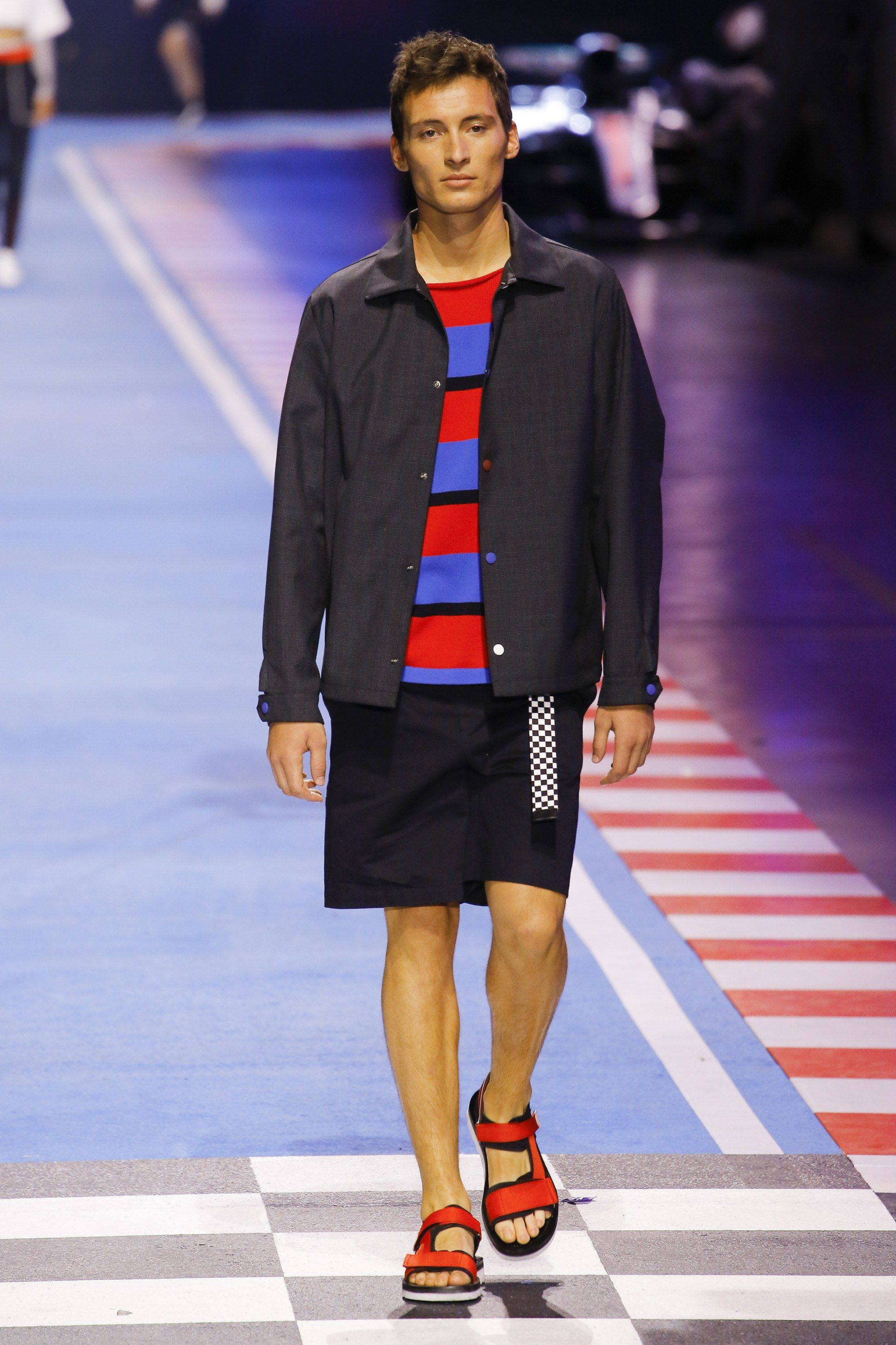 939dbc55 Tommy Hilfiger Spring 2018 Ready-to-Wear Fashion Show | Fashion and ...