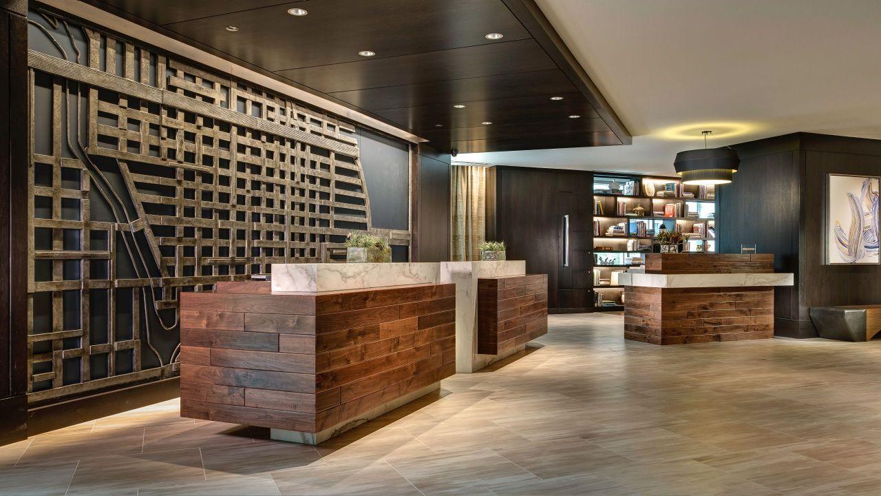 Front desk lobby design hotels design design