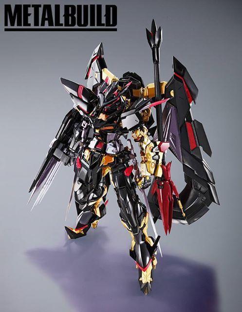 METAL BUILD Gundam Astray Gold Frame Amatsu Mina - New Images ...