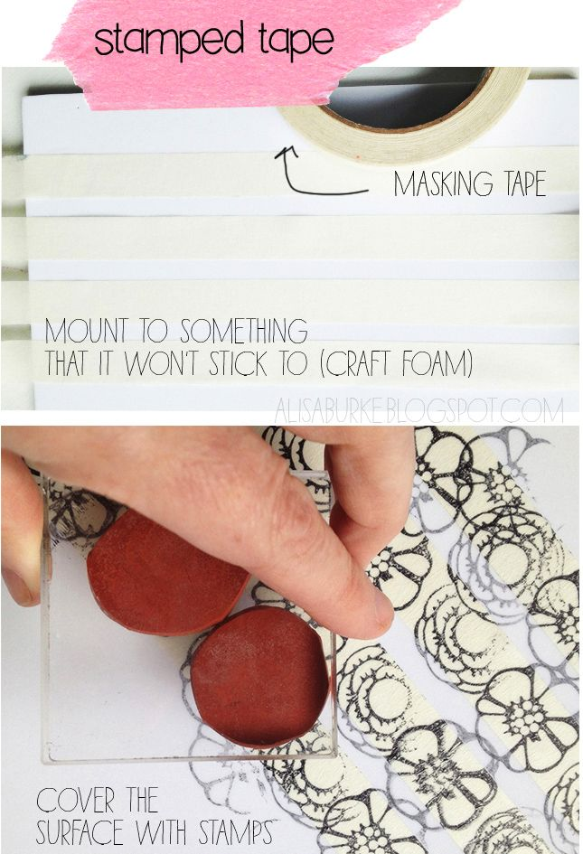 Stamp on tape. Gloucestershire Resource Centre http://www.grcltd.org/home-resource-centre/