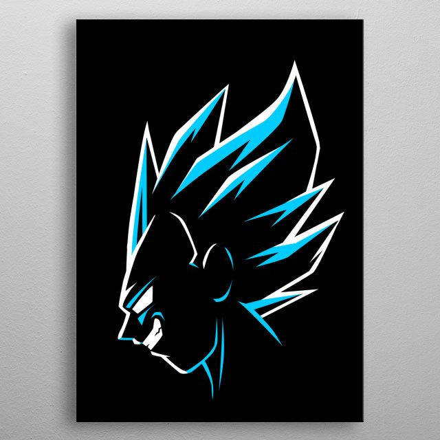 'Blue God Prince' Metal Poster Print - Alberto Perez | Displate