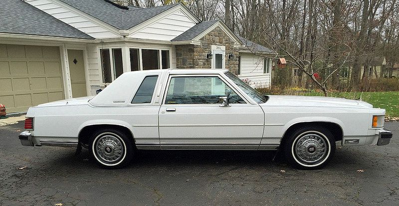 1985 Mercury Grand Marquis Ls Coupe Classic Cars Trucks Grand Marquis Mercury Cars