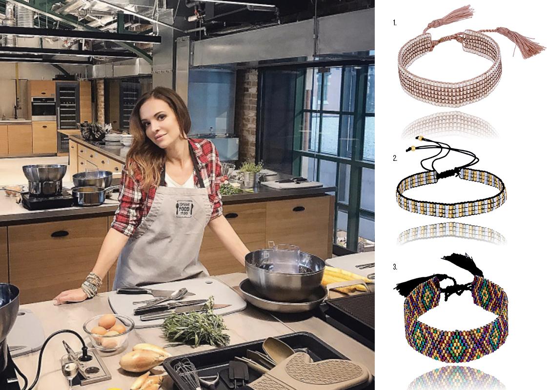 Inspirująca Ania Wendzikowska w By Dziubeka #bydziubeka #trendy #trends #fashion #star #celebrity #wendzikowska #cute #style #ootd #outfit #jewellery #cooking