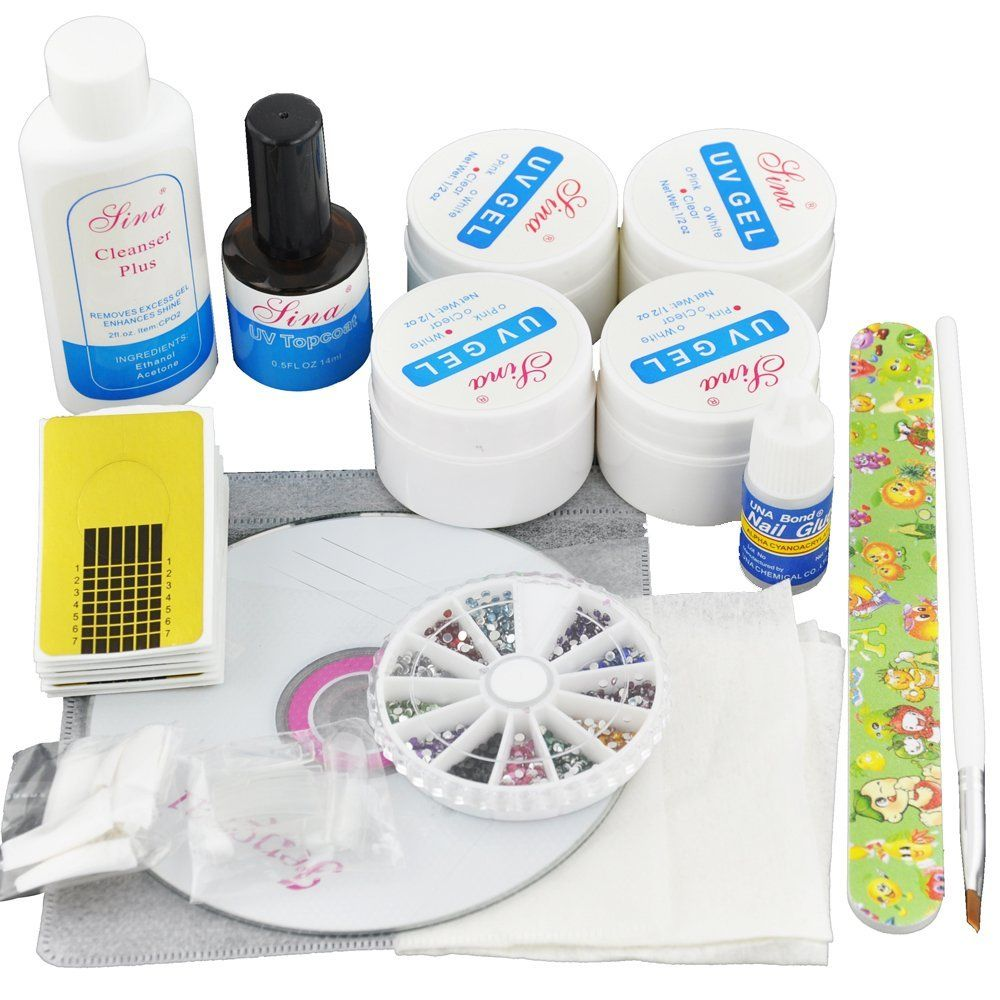 Beauties Factory UV Gel Nail Art Kit Set >>> Continue to the product ...
