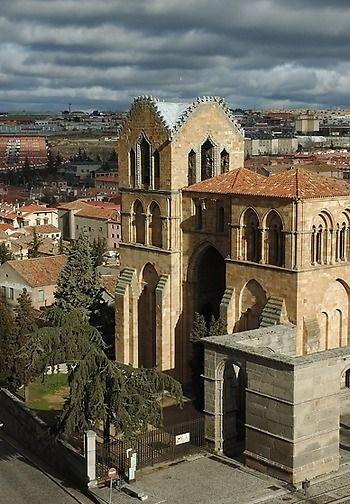 Basilica De San Vicente Avila Spain San Vicente Castile And Leon Spain