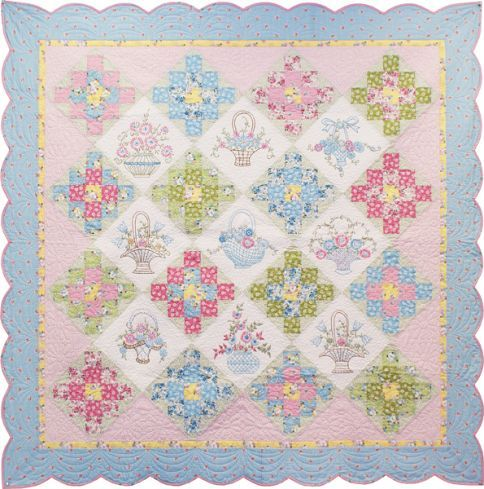 Sweet Daisy Dreams Free Pattern: Robert Kaufman Fabric Company ... : daisy quilts - Adamdwight.com