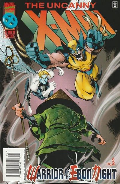 Cover for The Uncanny X-Men (Marvel, 1981 series) #329 [Direct Deluxe Edition]