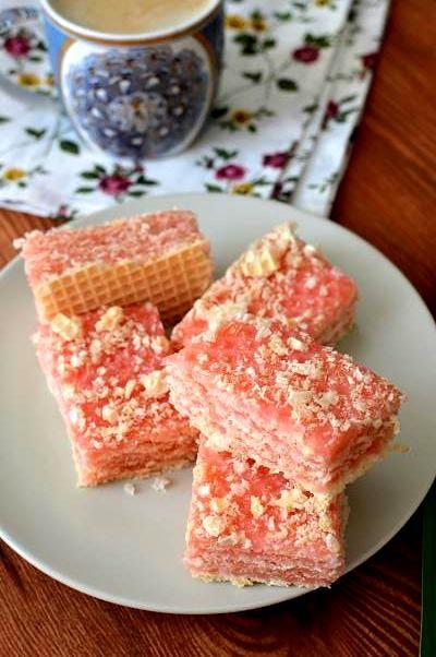 Homemade bakery..recipes: Вафлі з галяретною масою / Jelly Waffle Cake