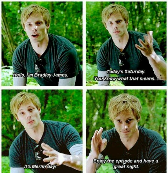 Oh Bradley ;-; Please come back and tell us this again!!!